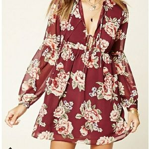 Floral Tunic/Dress
